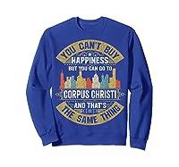 Corpus Christi City Flag Tshirt I Love Corpus Christi Shirt Sweatshirt Royal Blue