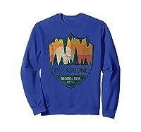 Mammoth Cave National Park Kentucky Emblem Shirts Sweatshirt Royal Blue