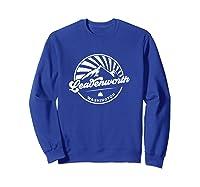 Leavenworth Washington Retro Vintage City Mountains T Shirt Sweatshirt Royal Blue