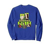Disney Zombies Zomb5 T Shirt Sweatshirt Royal Blue