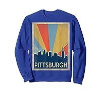 Classic Pittsburgh Shirts Sweatshirt Royal Blue