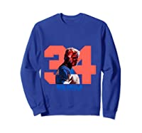 Uncle Drew Big Fella 34 Shirts Sweatshirt Royal Blue