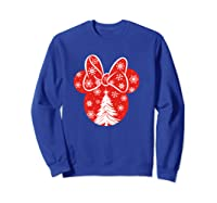 Disney Minnie Tree T Shirt Sweatshirt Royal Blue