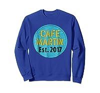 Cafe Martin T-shirt V1.4 Sweatshirt Royal Blue