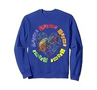 Chameleon Karma 80 S Pride 1980 S Pop Club Culture Peace Shirts Sweatshirt Royal Blue