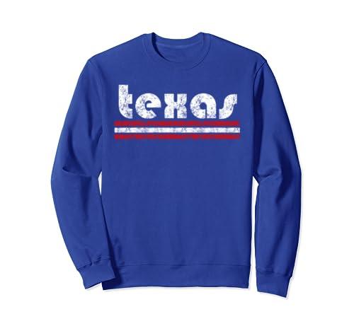 Texas Retro Vintage Weathered Sweatshirt