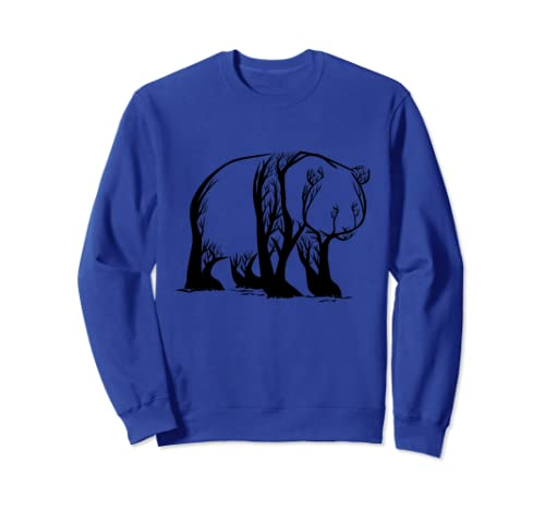 Panda Tree  Sweatshirt