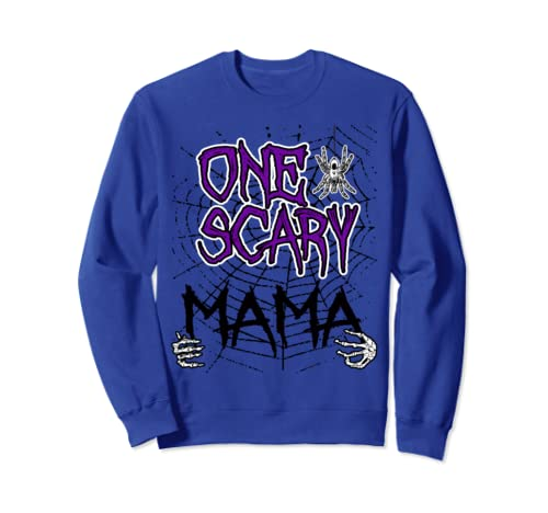 One Scary Mama Matching Family Halloween Costume Sweatshirt