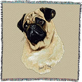 Amazoncom Pug Throw Blanket