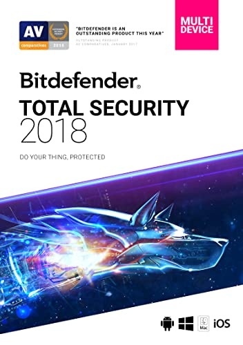 Bitdefender Total Security 2018 | 5 Devices, 1 Year | Download [Online...