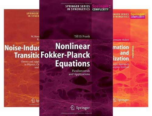 Springer Series in Synergetics (41 Book Series)