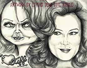 bride of chucky drawing