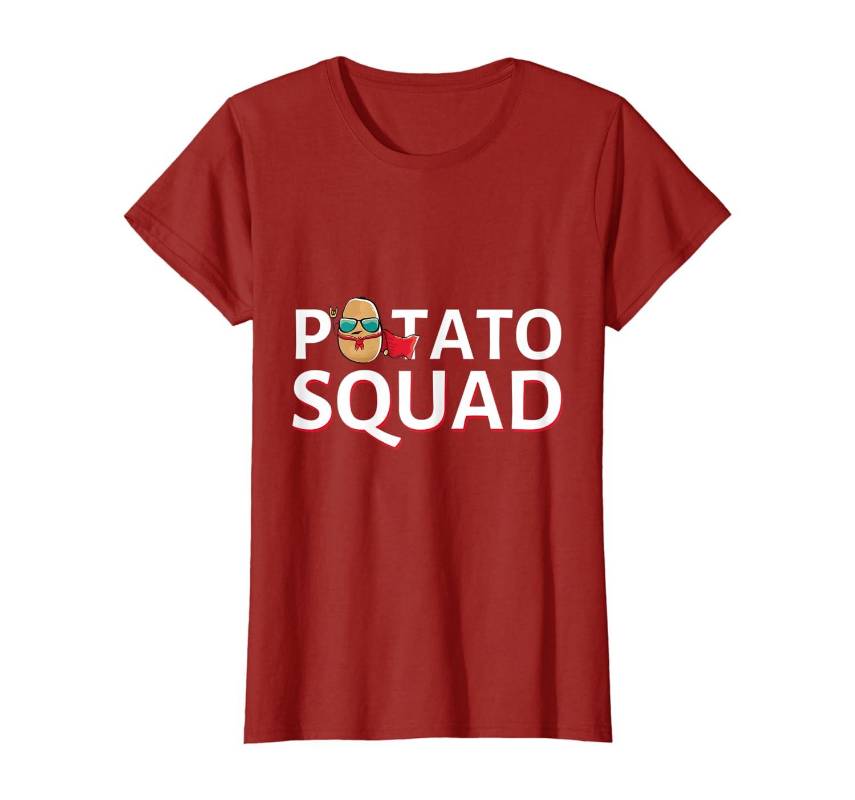 Potato Squad tshirt Funny Potato Vegetarian