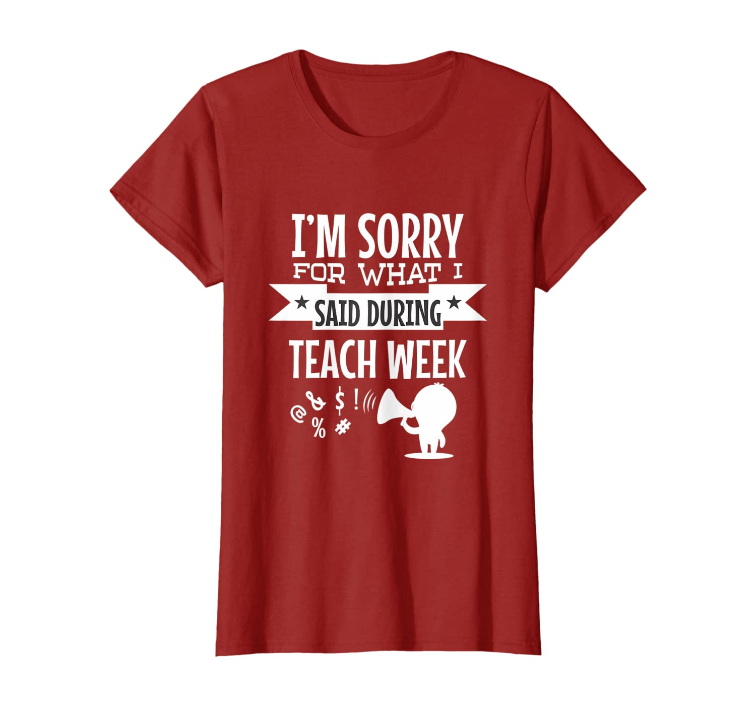 Actress Sorry For What I Said During Tech Week T-Shirt