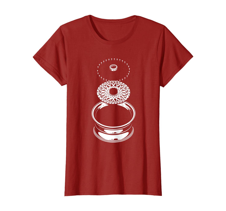 Cadeau de voiture jantes de m/écanicien T-Shirt
