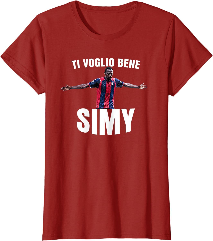 Crotone Calcio Fantacalcio Allenatore Maglietta Ti Voglio Bene Simy