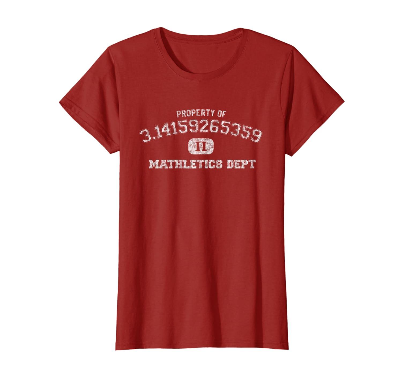 Pi Day Shirt 3.14 Pi Mathletics Dept Funny Gym T-shirt-Awarplus