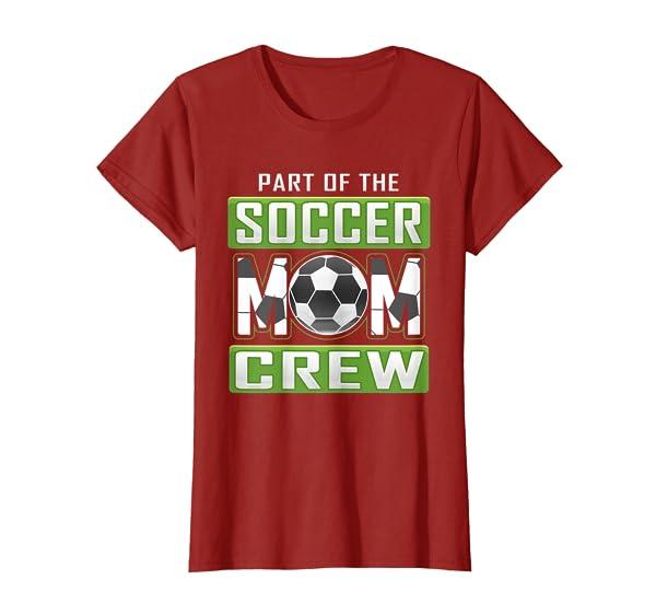 Soccer Team Crew Mom T Shirt