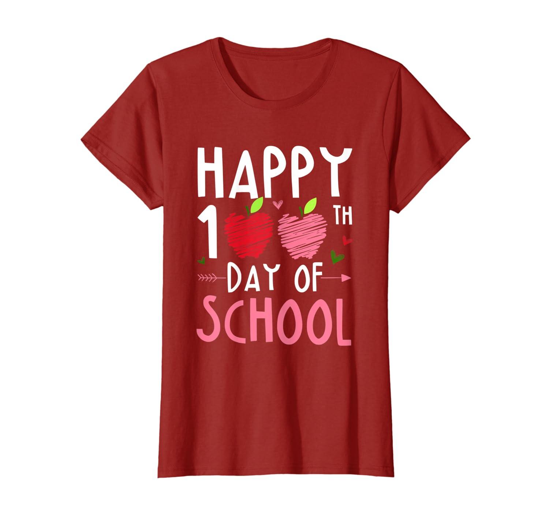 Happy 100th Day of School Kindergarten Teachers Funny T-Shirt