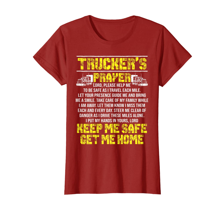 Truckers Prayer Truck Driver Gift Shirt For Men And Women T-Shirt