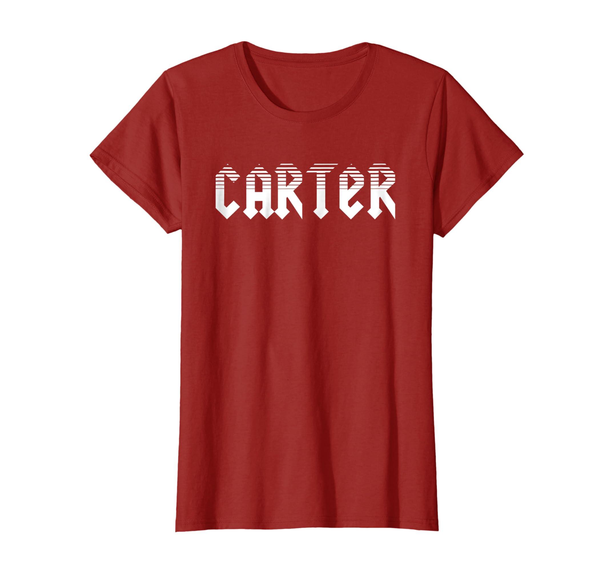 5b1ea7afb Amazon.com: Carter Sharer T-Shirt: Clothing