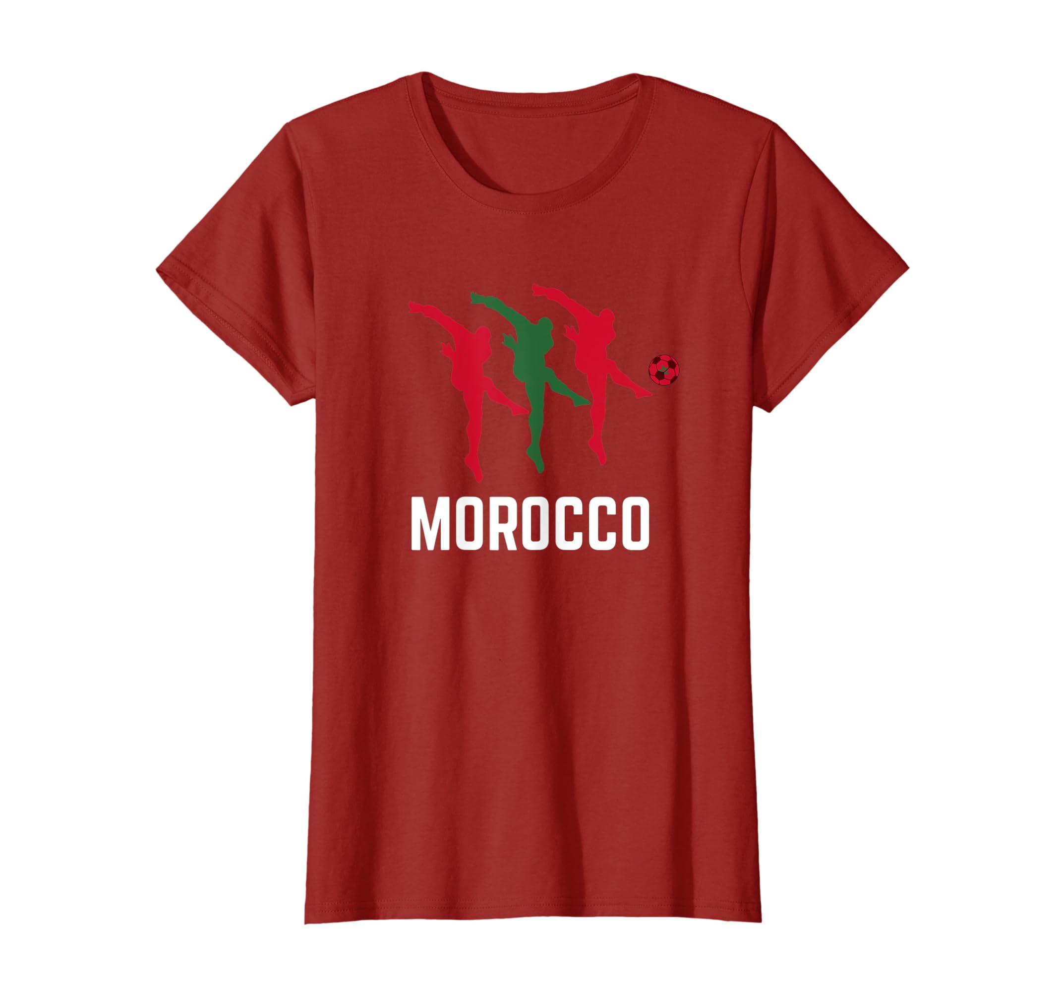 1d500ef7e8a Amazon.com: Morocco Soccer Jersey 2019 Moroccan Football Team Fan Shirt:  Clothing