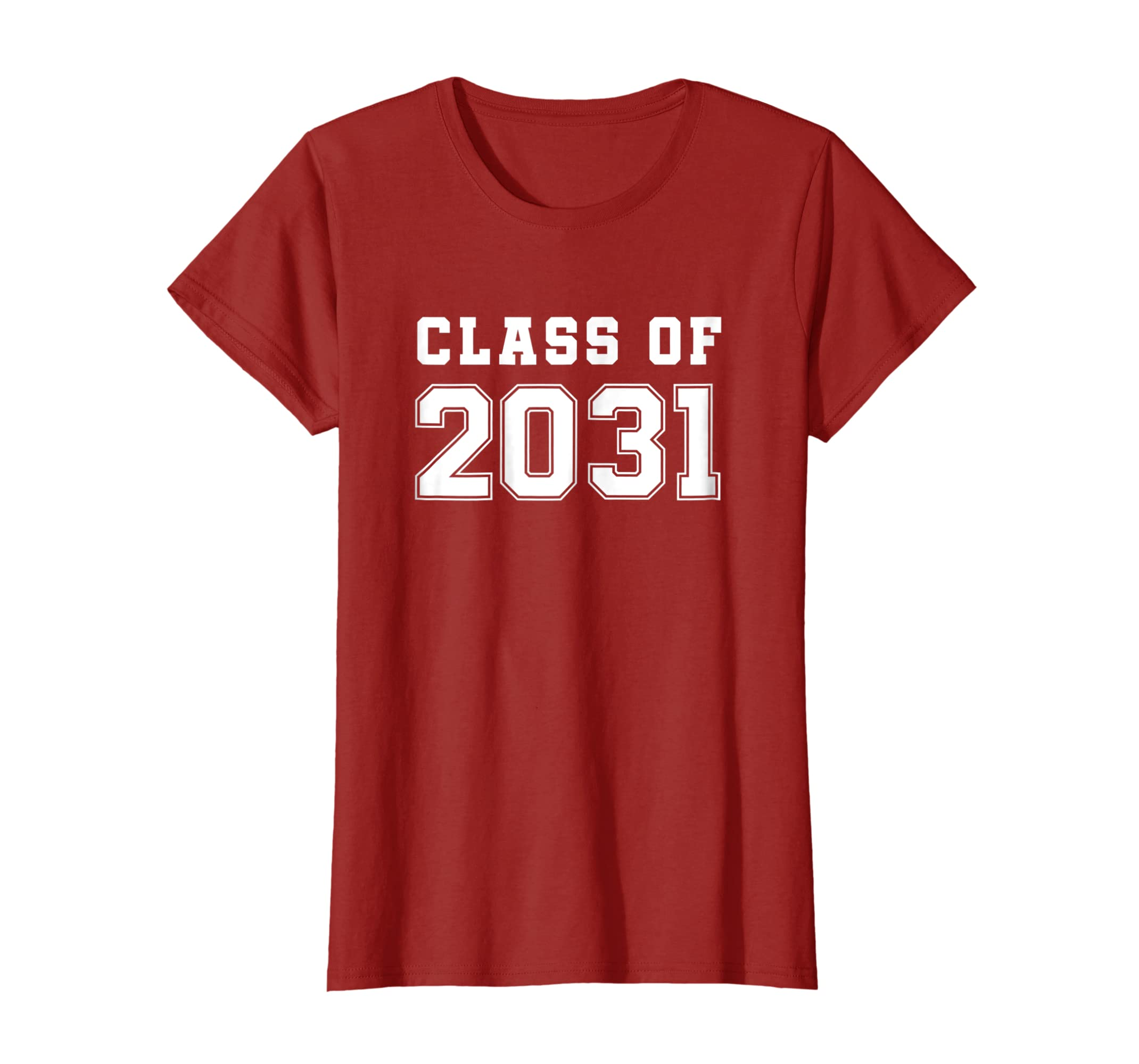 Class of 2031 T Shirt First Day of School Grow With Me Shirt-Protee