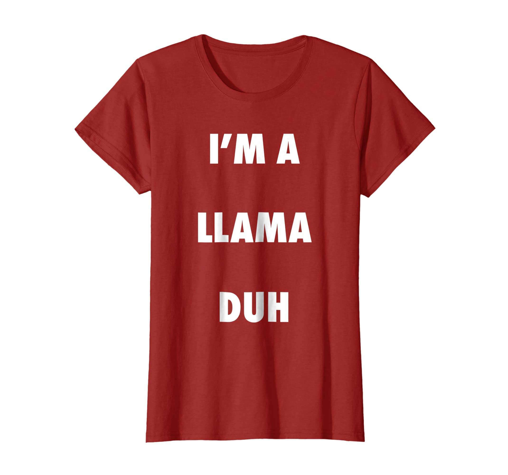 Easy Halloween Llama Costume Shirt for Men Women Kids-Colonhue