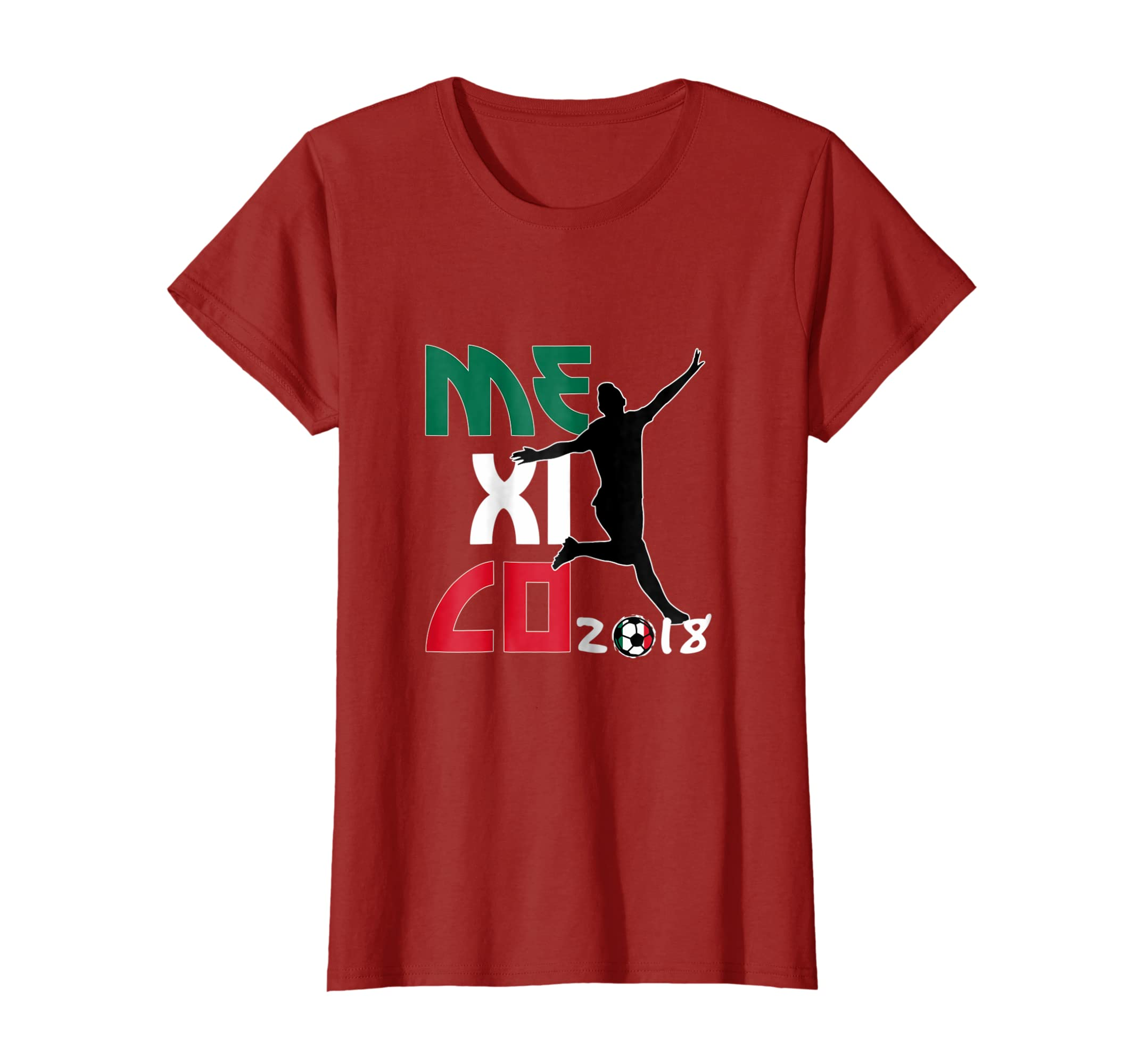 Amazon.com: Womens Playera Seleccion Mexicana Futbol 2018 Tshirt Camiseta Mujer: Clothing