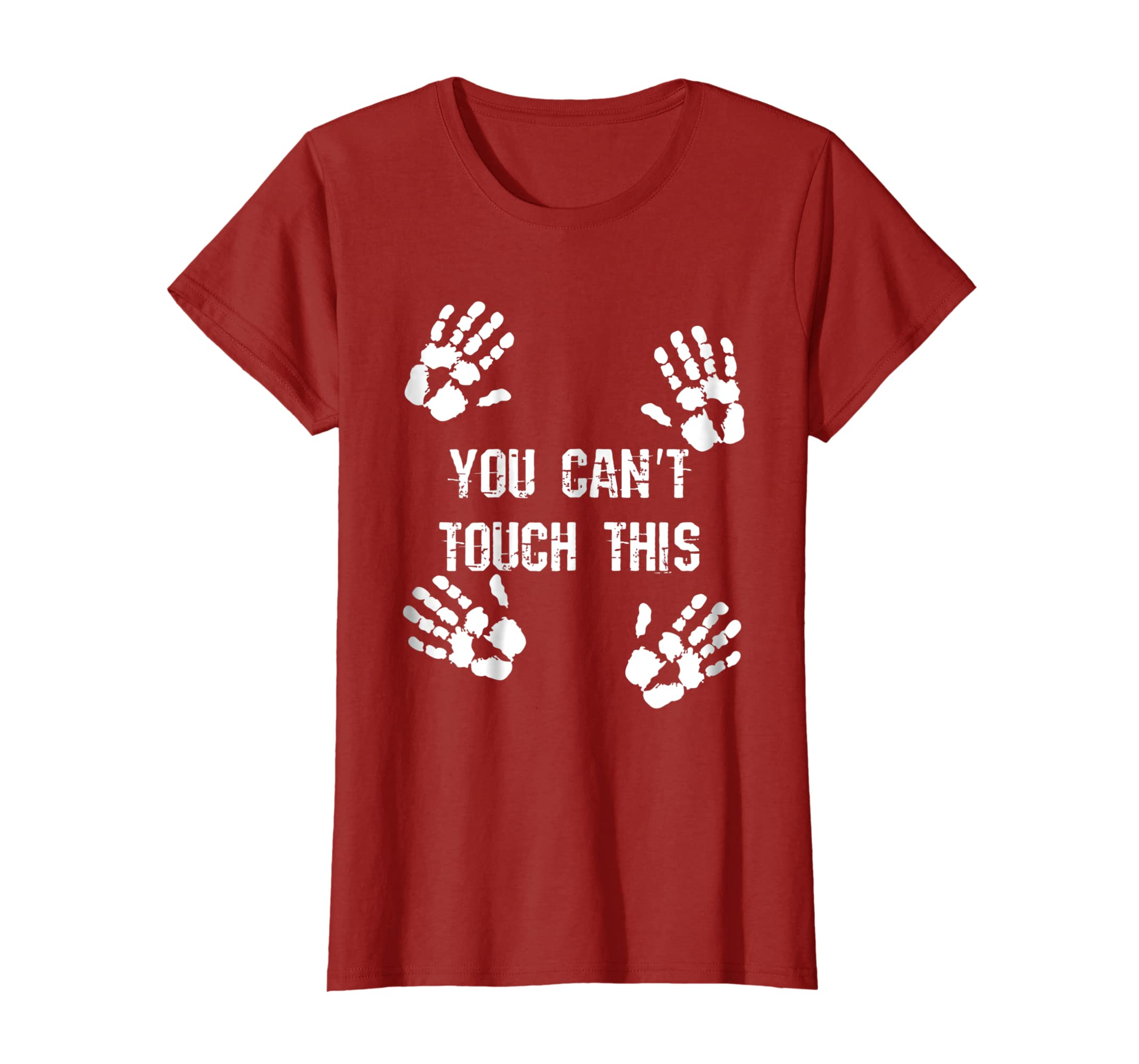 You Cant Touch This T Shirt Multiple Hands Against Violence