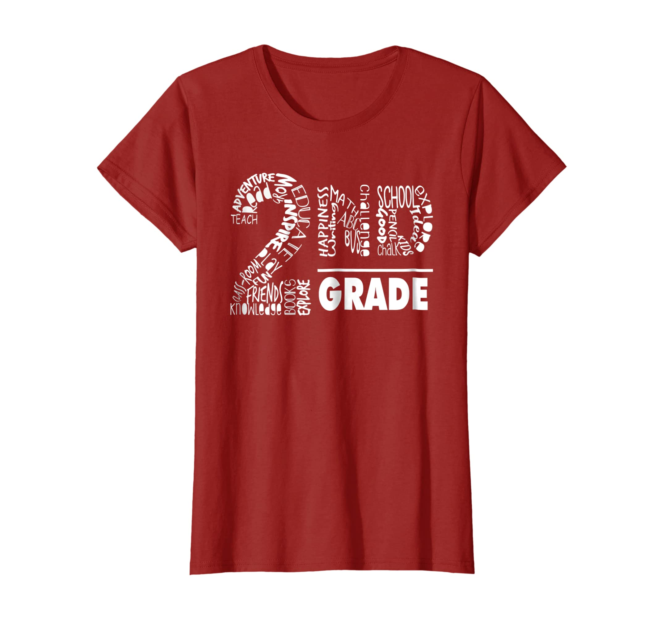 Second Grade Tee Shirt For Teachers & Students Of 2nd Grade-Newstyleth