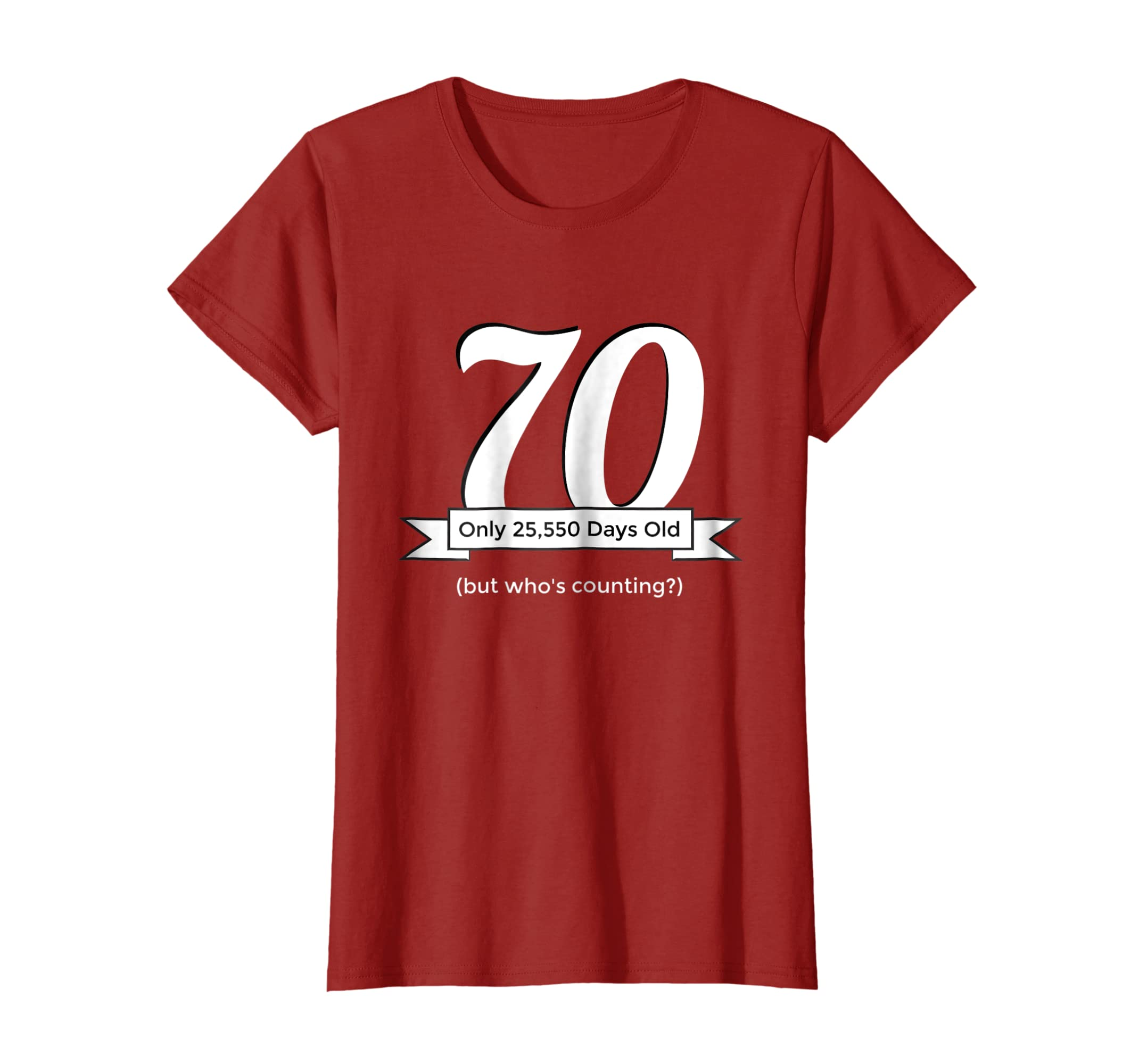 Amazon Funny Happy 70th Birthday T Shirt