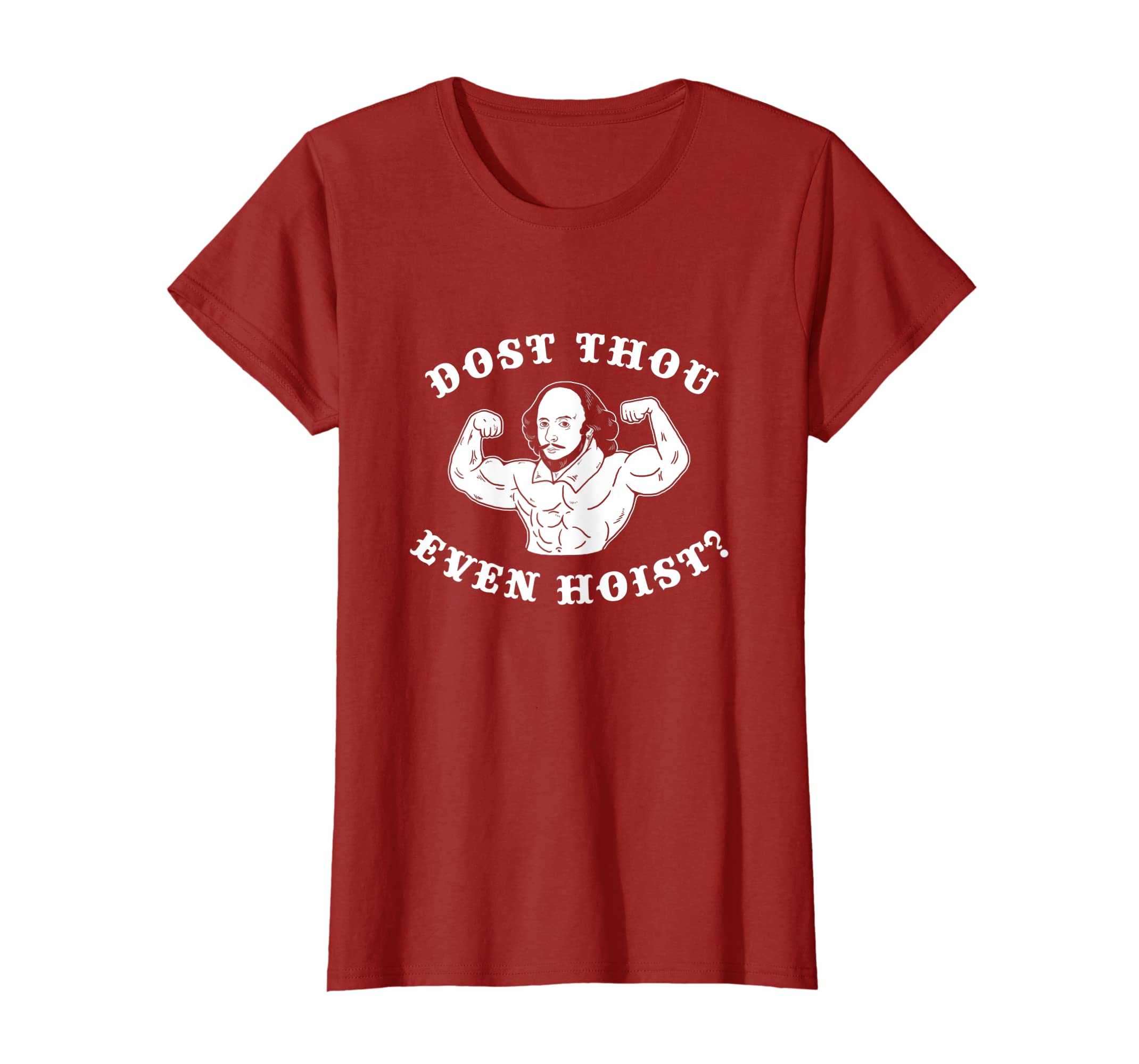 Dost Thou Even Hoist T-Shirt – Do You Even Lift Meme-Teehay