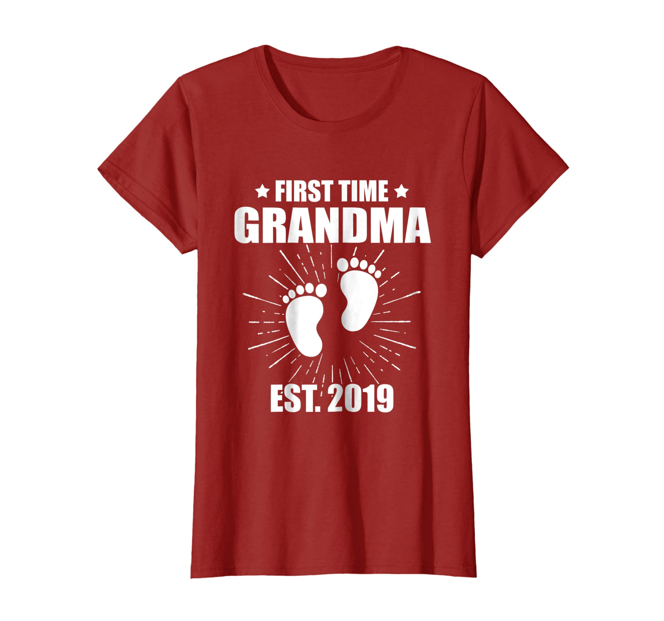 First Time Grandma EST 2019 on Grandparents day t shirt-Awarplus