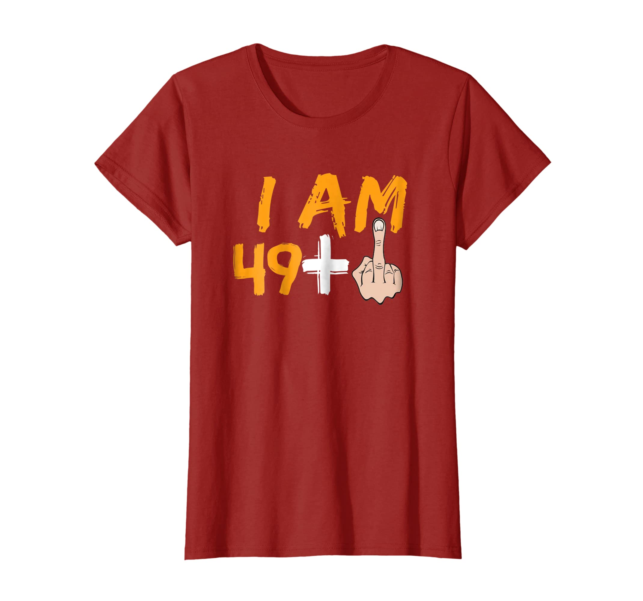 50th birthday Gift ideas Funny T shirt For men and women-Awarplus