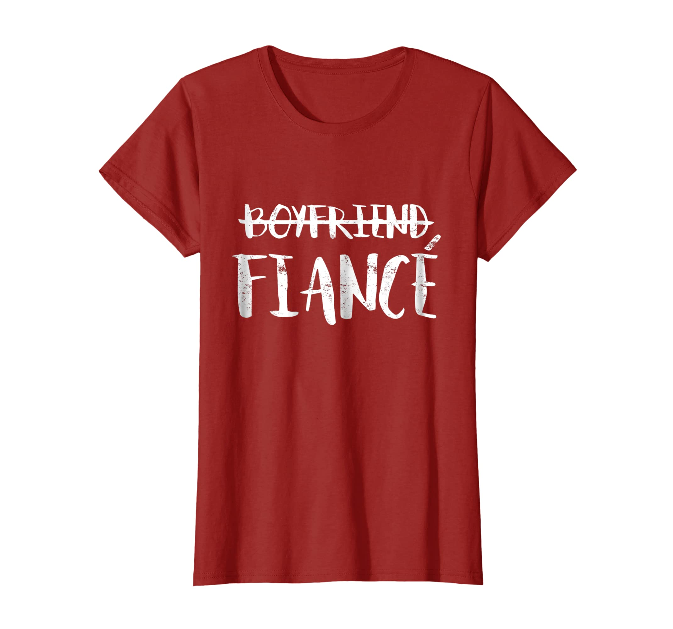 Gift For Fiance On Wedding Day: Mens Engagement Boyfriend Fiance T Shirt Wedding Day Gifts