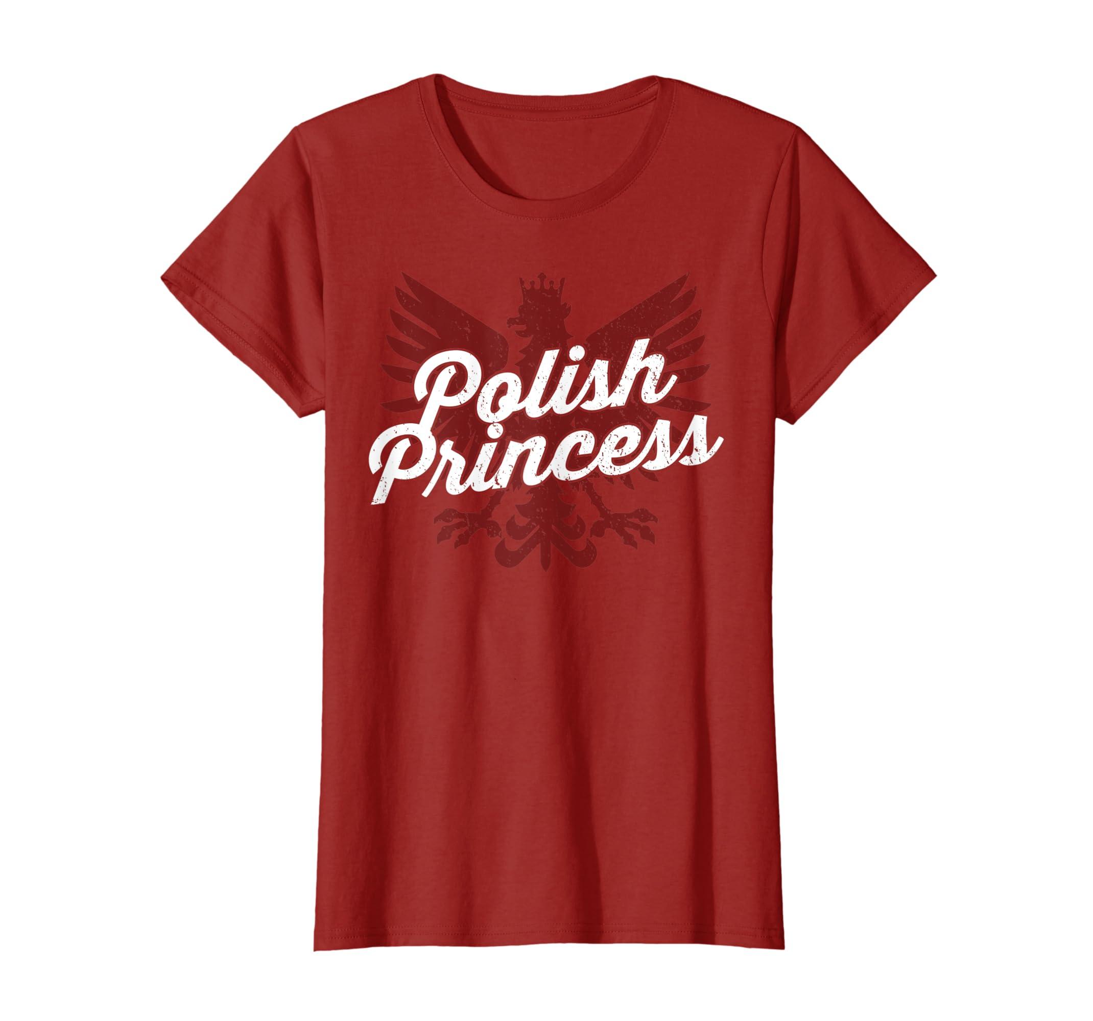 f7bef08cb Amazon.com: Womens Polish Princess Polska T-Shirt: Clothing