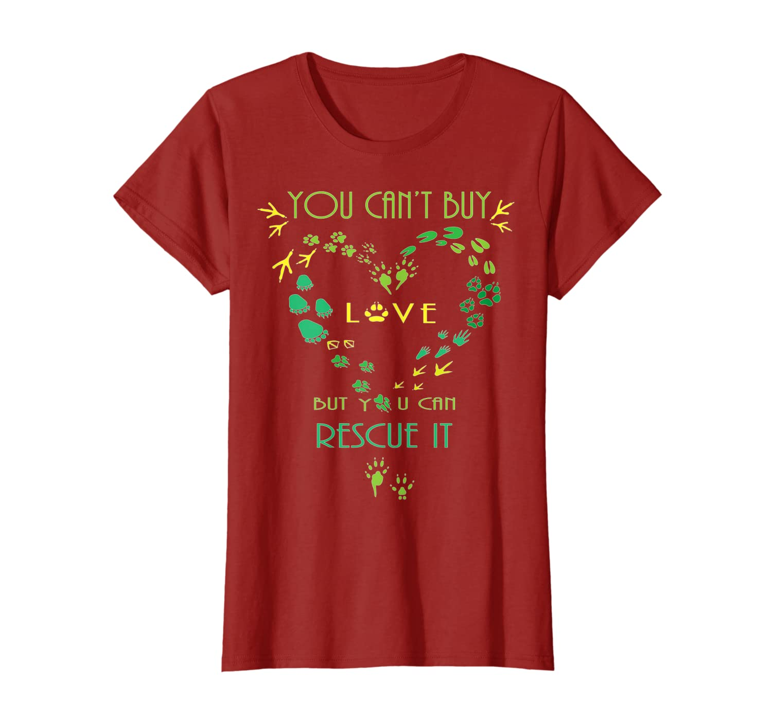 Animal Rescue , Can't Buy Love Rescue It, Wildlife Shirts