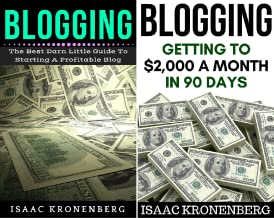 Blogging For Profit (2 Book Series)