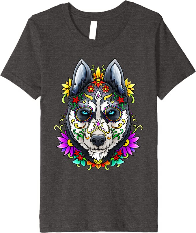 Day of the Dead Dog Clothes Pug Clothes Sugar Skull Dog Jacket Dia De Los Muertos Dog Costume Birthday Gifts For Dog Owners Pet Gift