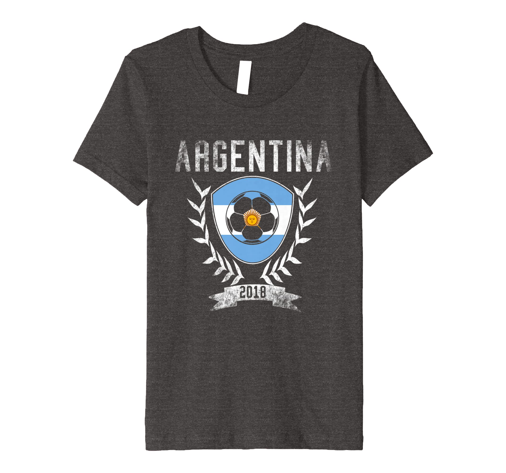 0f5ecdca7d62 Amazon.com  Argentinian Football 2018 T-Shirt - Argentina Soccer Jersey   Clothing