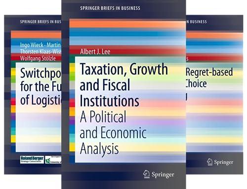 SpringerBriefs in Business (34 Book Series)
