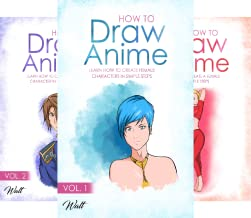 How To Draw Anime (6 Book Series)
