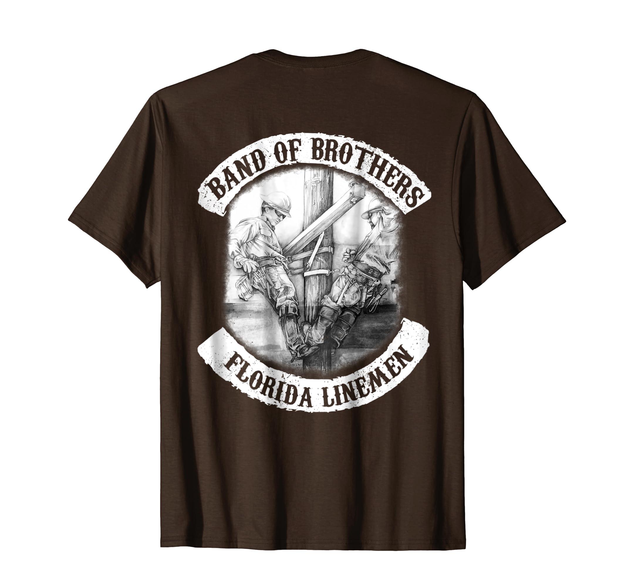 357755e5 Florida Electrical Lineman T shirt-azvn – Anzvntee