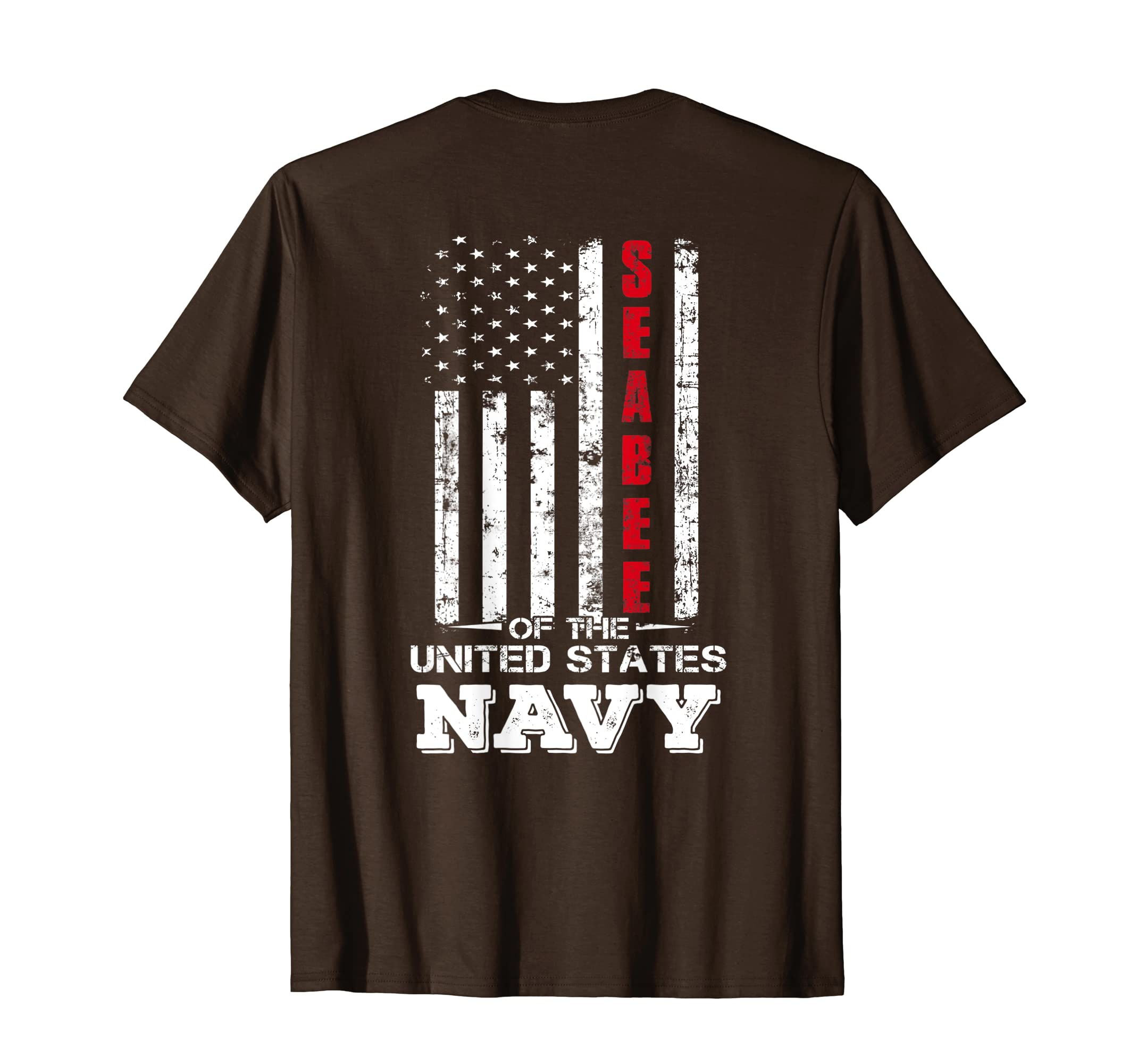 1c3acbe7bf225 Amazon.com: Seabee Of The U.S Navy United States T-Shirt: Clothing