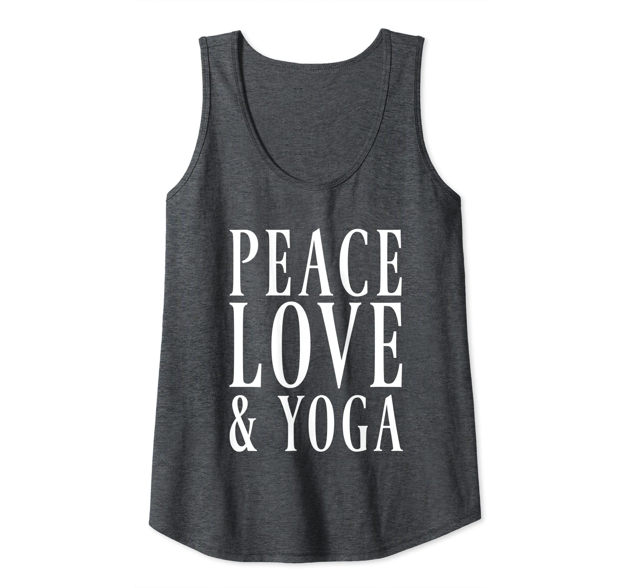 Amazon.com: Peace Love and Yoga Tank Top: Clothing