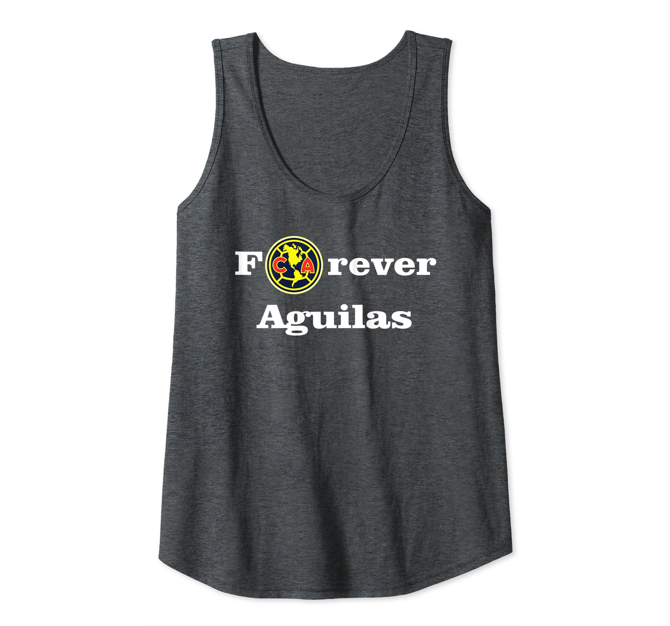 huge discount d1a13 fd53e Amazon.com: Forever Aguilas del America Shirt Orgullo ...