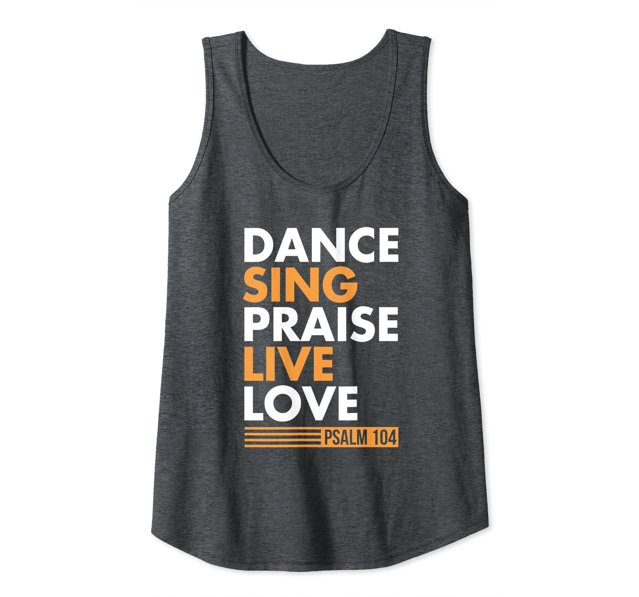 Amazon com: Dance Sing Praise Live Love Christian Easter