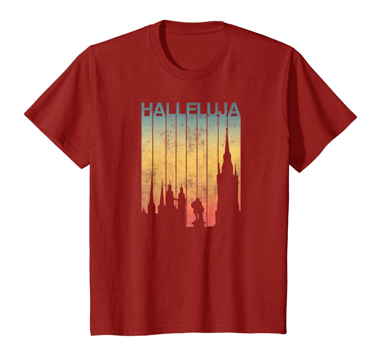 Halle Saale Shirt Hallenser Hallunke Halleluja T-Shirt T-Shirt