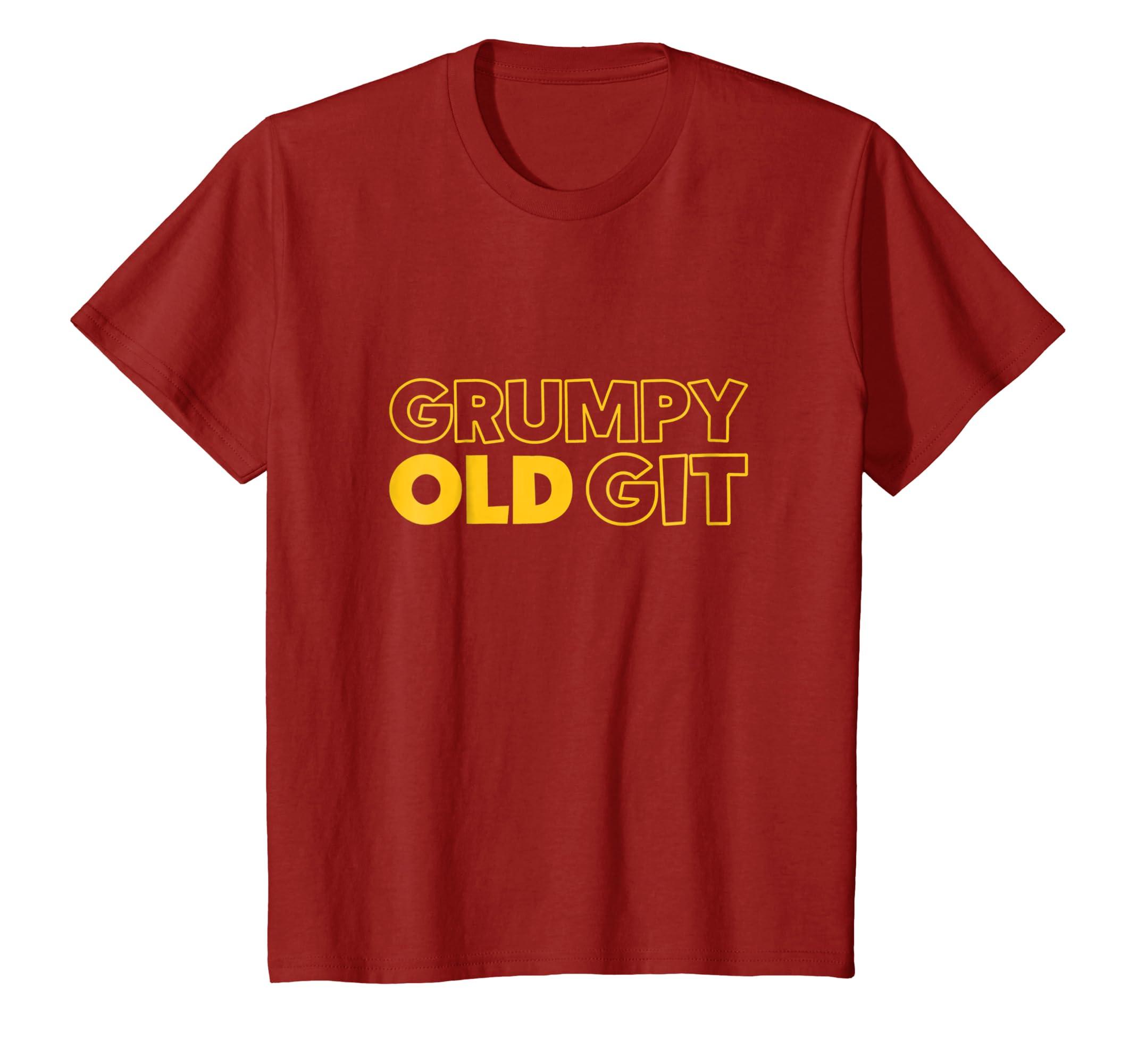 Amazon com: Mens Tshirt Grumpy Old Git Tee Best Grandad